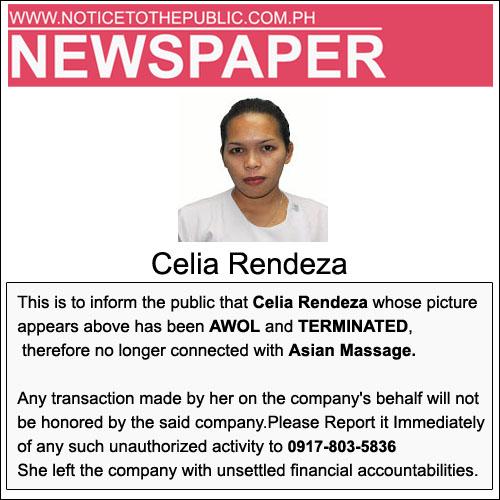 Celia Rendeza