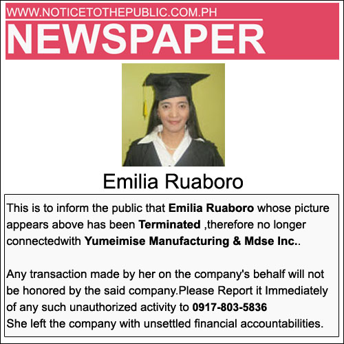 Emilia Ruaboro
