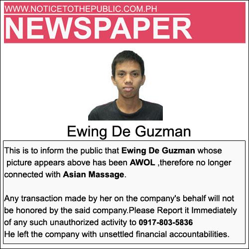 Ewing De Guzman