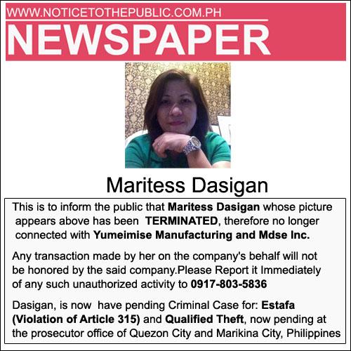 Maritess Dasigan