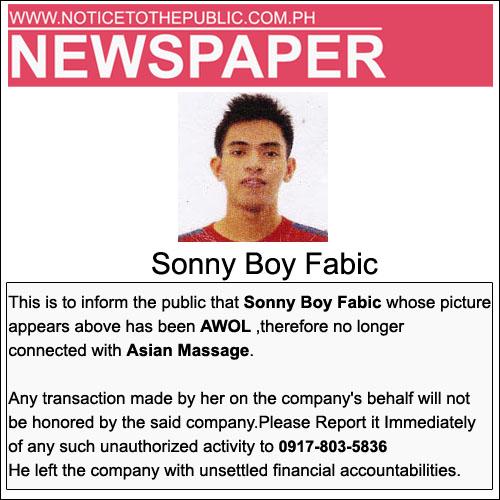 sonny boy fabic
