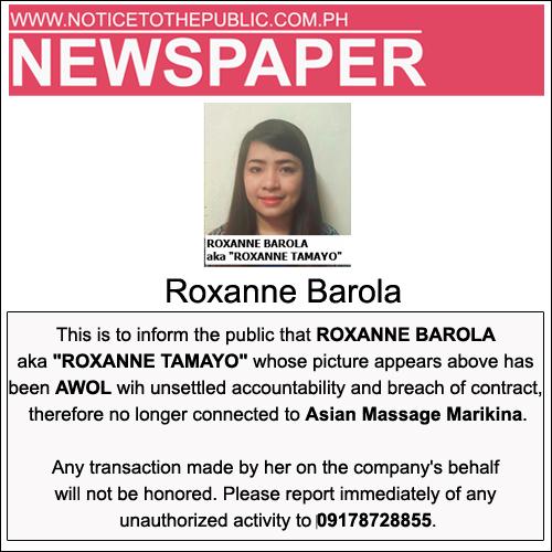 roxanne barola-therapist